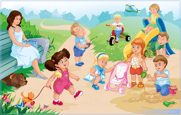 На территории Саратова работают детские летние площадки